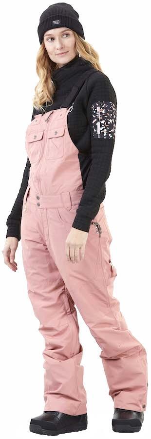 Picture Seattle Women's Ski/Snowboard Bib Pants, M Misty Pink