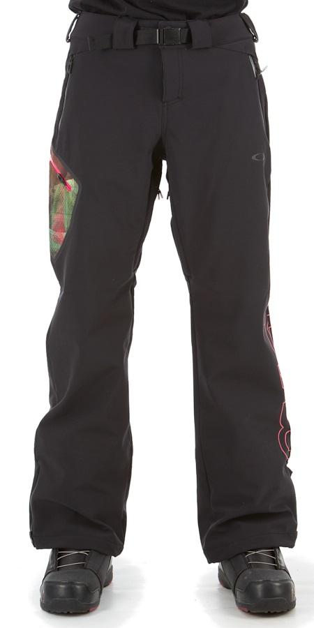 Oakley Hourglass Women's Snowboard/Ski Pants, XS Blackout