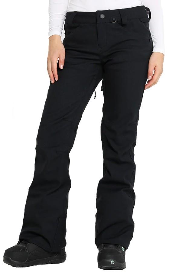 Volcom Womens Species Stretch Womens Snowboard/Ski Pants, Uk 12 Black