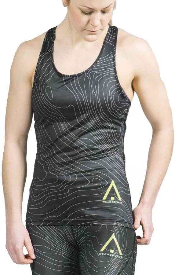 Wearcolour Pace Tank Top Running Vest, L Black Elevation