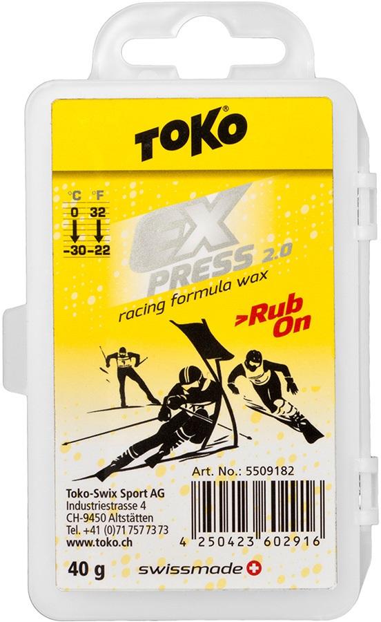 Toko Express Racing Rub-On Ski/Snowboard Wax