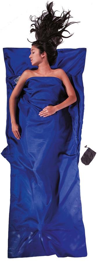 Cocoon TravelSheet Silk Sleeping Bag Liner, Ultramarine