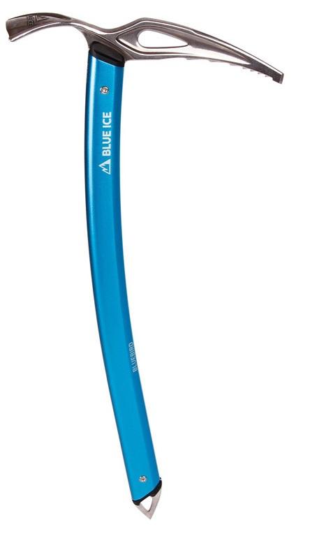 Blue Ice Bluebird Lightweight Adze Alpinism Ice Axe, 49cm Blue