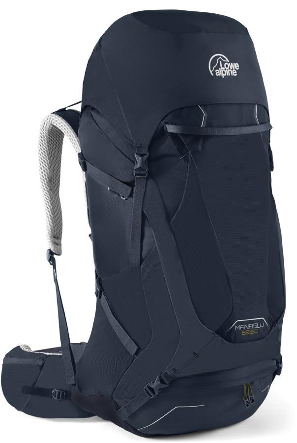 Lowe Alpine Manaslu 65:80 M/L Trekking Backpack, 80L Navy