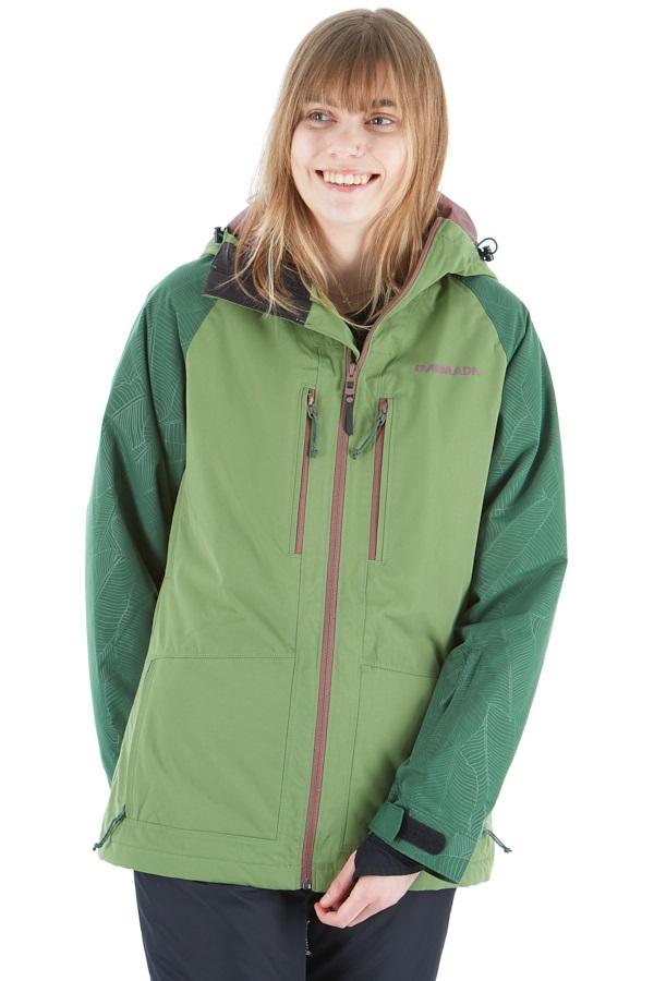 Armada Stadium Insulated Womens Ski/Snowboard Jacket, S Sage
