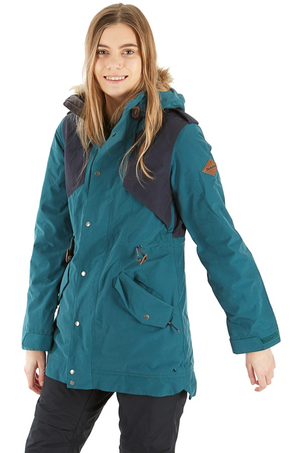 Dakine Brentwood Women's Ski/Snowboard Jacket, S Deep Teal/Night Sky