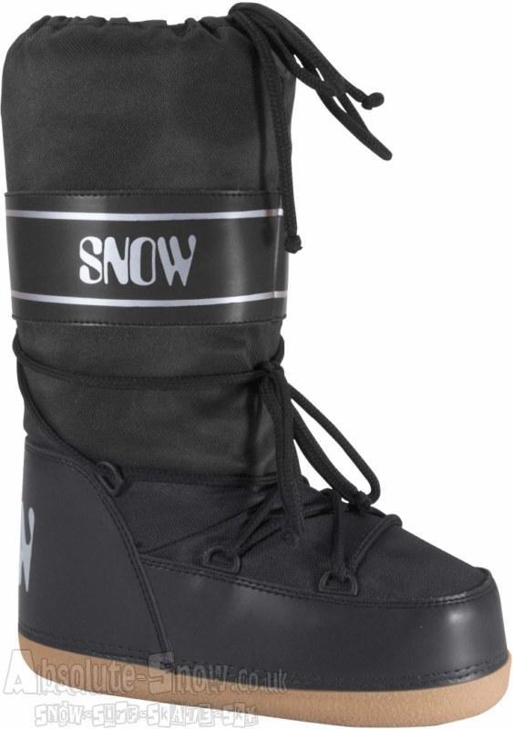 Manbi Space Snow Boots, UK Child 13-UK 2 Black