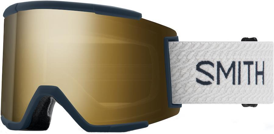 Smith Squad XL CP S/Blk Gld Snowboard/Ski Goggles M/L French Navy Mod