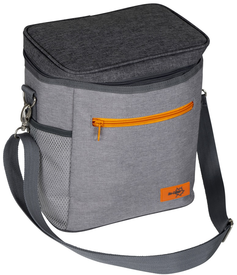 Bo-Camp Cool Bag Insulated Cooler Pack, 10L Grey
