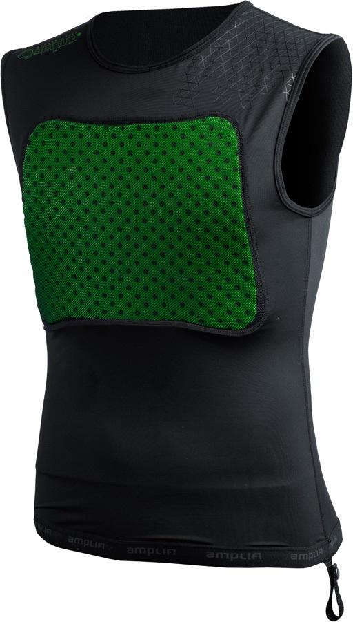 Amplifi MK II Armor Ski/Snowboard Impact Shirt, S/M Black