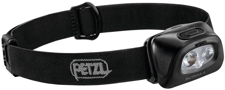 Petzl Tactikka Plus IPX4 Headtorch, 350 Lumens Black
