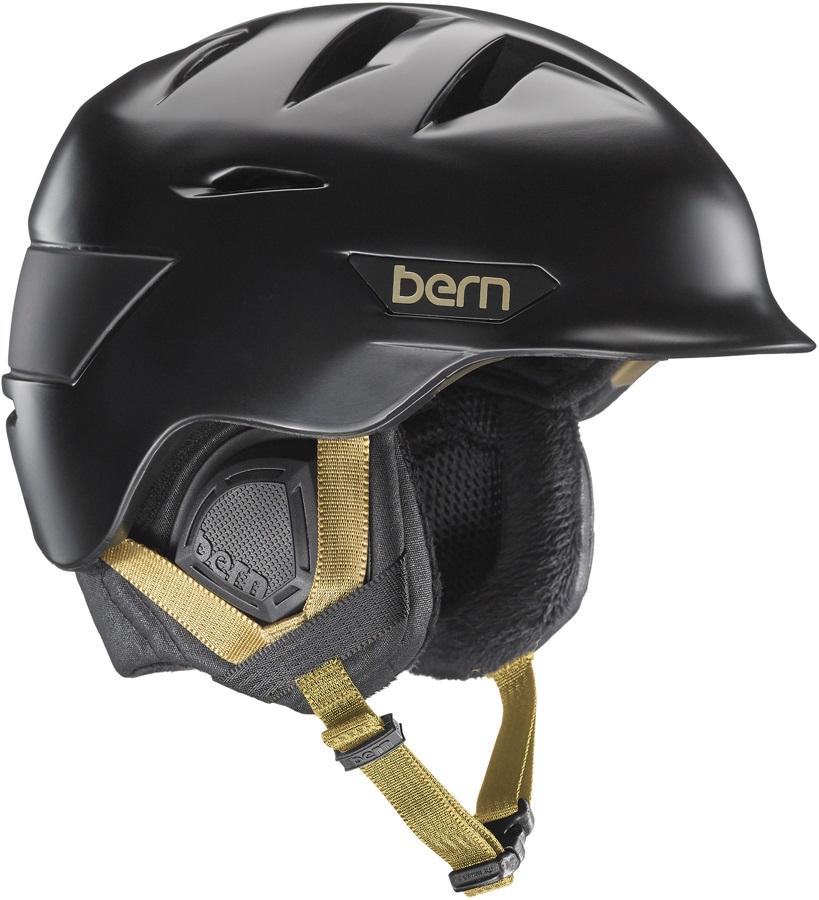 Bern Hepburn Women's Ski/Snowboard Helmet XS/S Satin Black