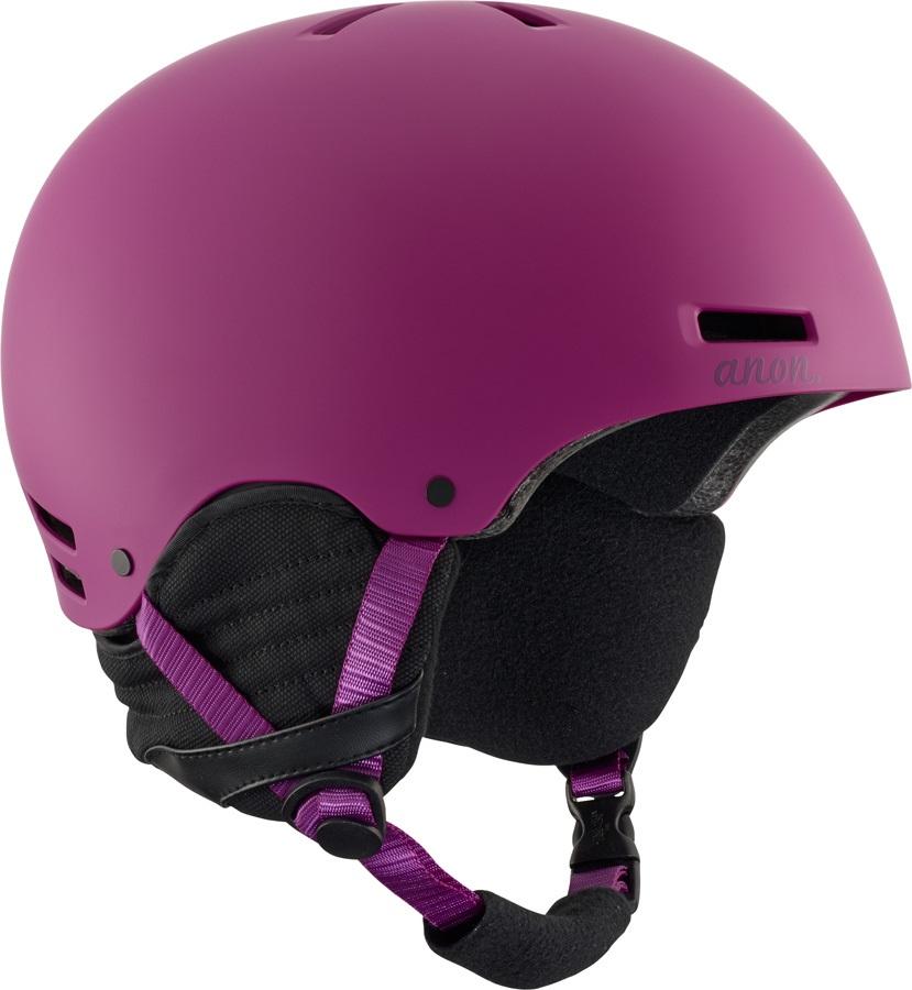 Anon Greta Women's Ski/Snowboard Helmet, XL Purple