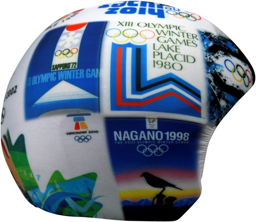 Coolcasc Printed Cool Ski/Snowboard Helmet Cover, Olympics