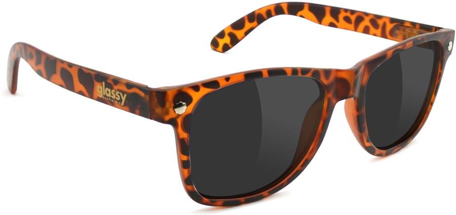 Glassy Sunhaters Leonard Sunglasses Tortoise Grey Lens