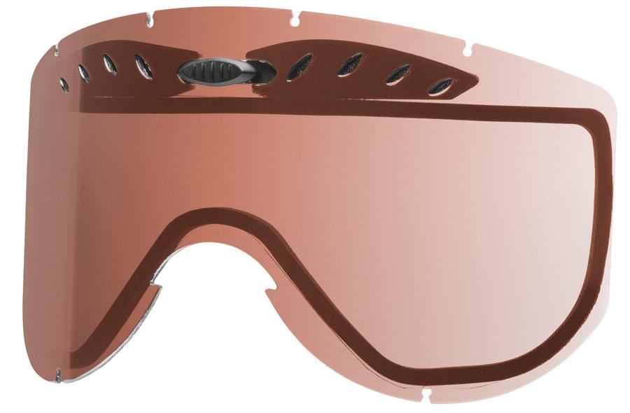 Smith Knowledge Snowboard/Ski Goggle Spare Lens, RC36 Rose Copper
