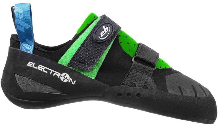EB Electron Rock Climbing Shoe, UK 7 | EU 41 Black/Green