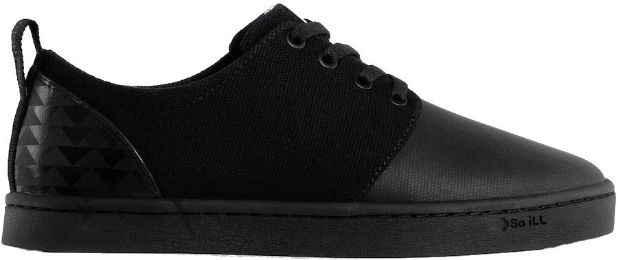 So iLL On The Roam Wino Approach Shoes, UK 7 Black Wolf