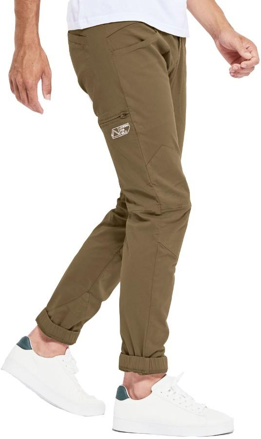 Looking For Wild Adult Unisex Fitz Roy Technical Climbing Pants, Xl Coffee