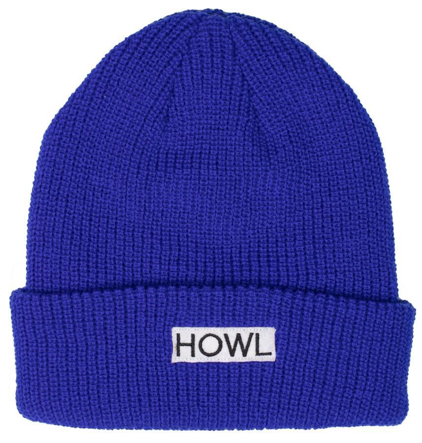 Howl Gasoline Ski/Snowboard Beanie, One Size Blue