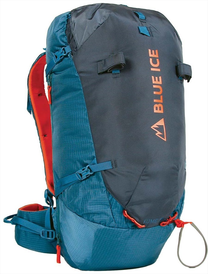Blue Ice Kume 38L Backpack Mountaineering Pack, 38L Ensign Blue