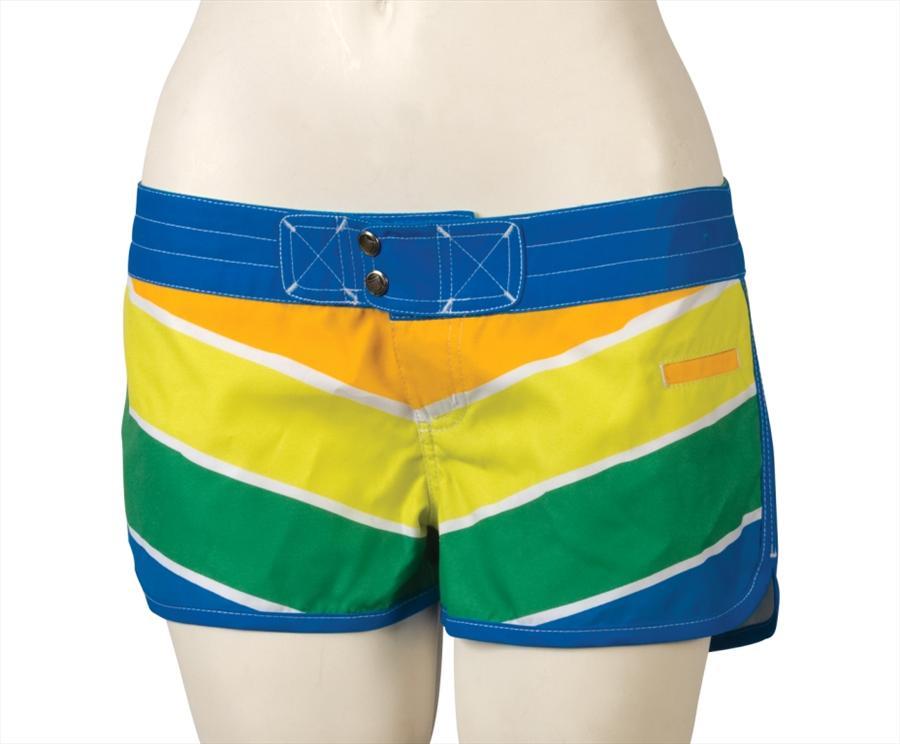 Liquid Force Sunny Board Shorts, UK 8 US 4 Eur 36 Green