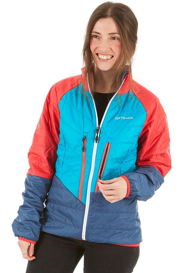 Ortovox (SW) Piz Bial Women's Insulated Jacket, UK 10 Night Blue Blend