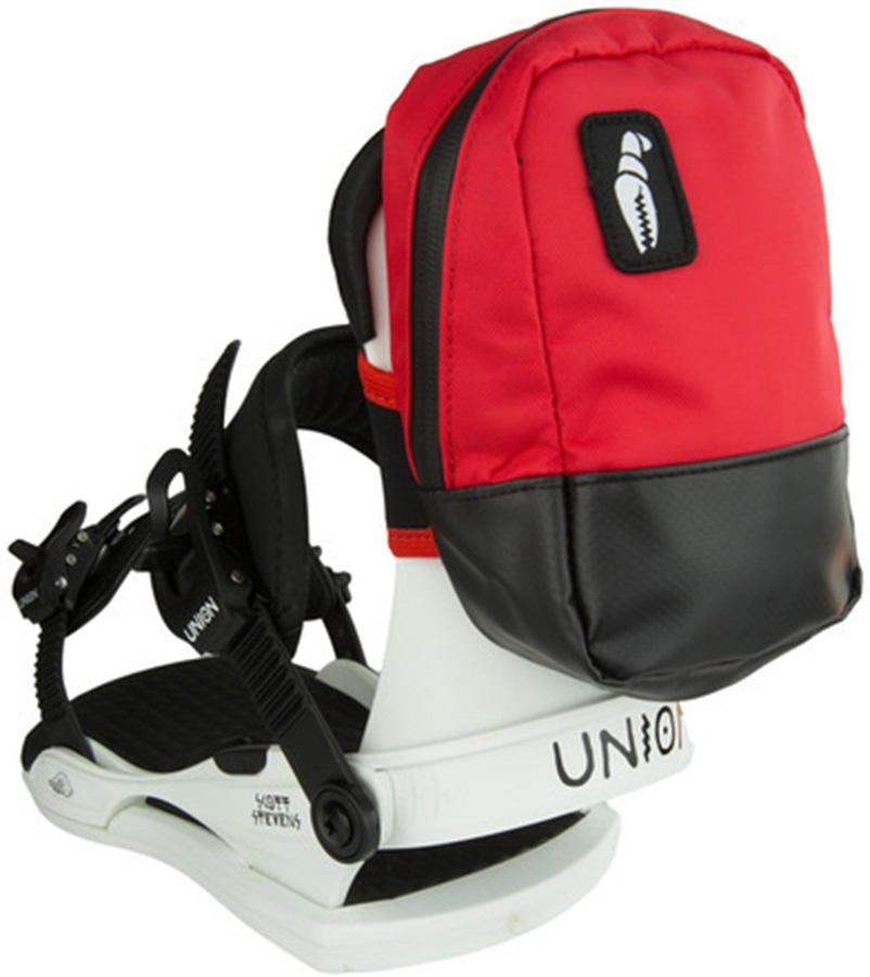 Crab Grab Snowboard Backpack Binding Bag, One Size, Black/Red