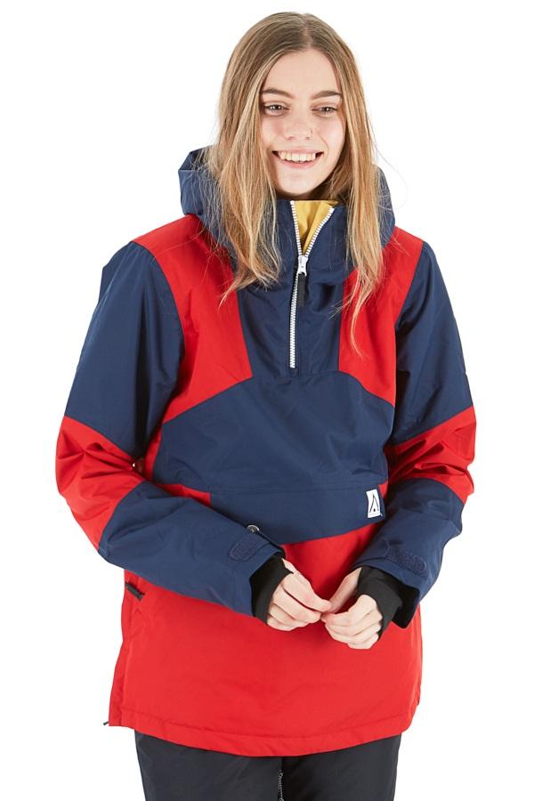 Wearcolour Homage Anorak Women's Snowboard/Ski Jacket M Falu Red