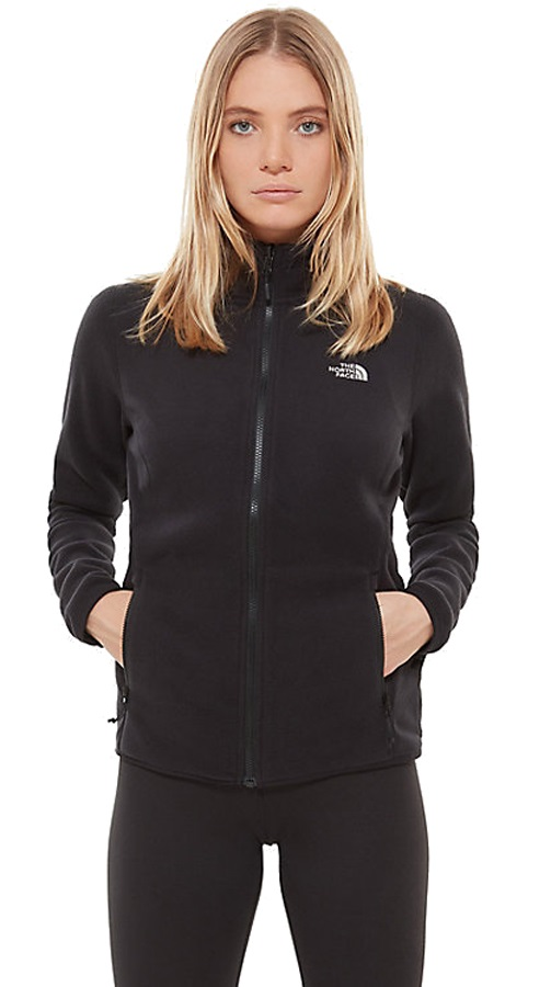 The North Face 100 Glacier Women's Fleece Jacket UK 12 TNF Black