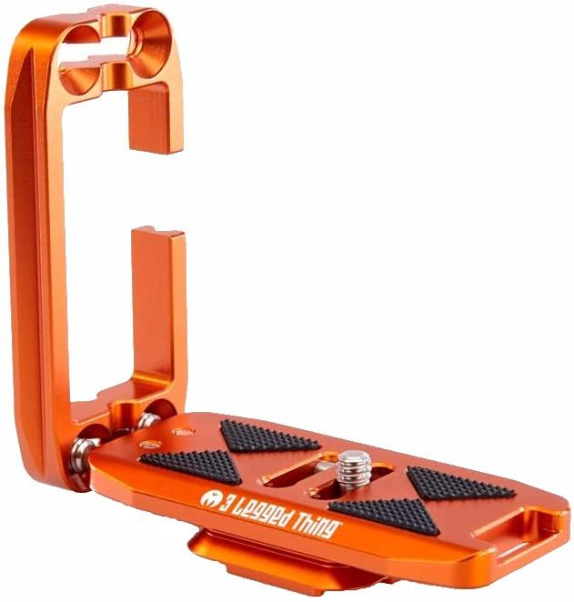 3LT Ellie Universal L-Bracket Arca Compatible Basic Plate, Orange