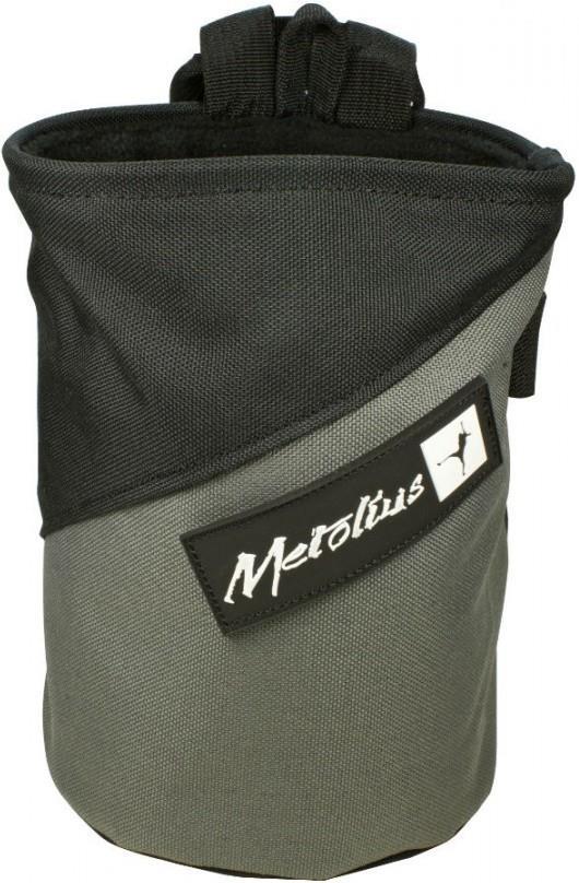 Metolius Competition Rock Climbing Chalk Bag, Grey/Black