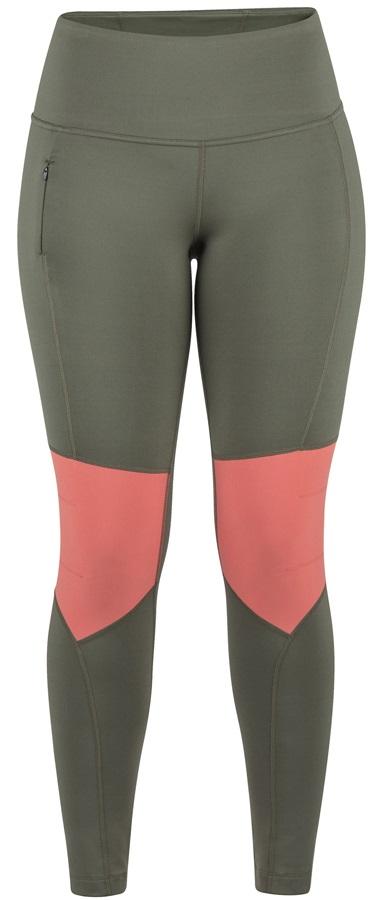 Marmot Trail Bender Tights Women's Leggings, XS Crocodile/Flamingo