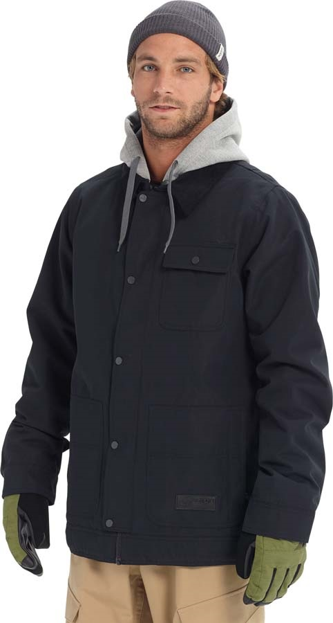 Burton Dunmore Snowboard/Ski Jacket, S True Black