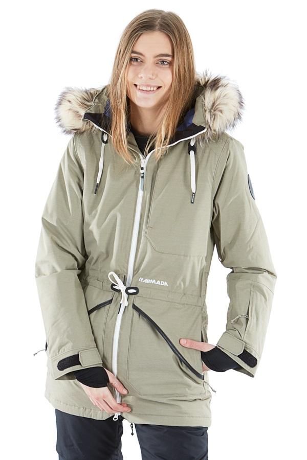 Armada Lynx Insulated Women's Ski/Snowboard Jacket, S Aspen