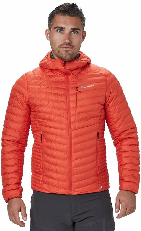 Montane Icarus Men's Insulated PrimaLoft® Jacket, XL Firefly Orange