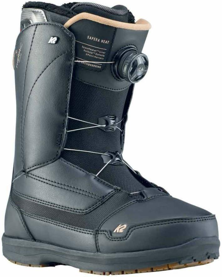 K2 Womens Sapera Boa Women's Snowboard Boots, Uk 5 Black 2020