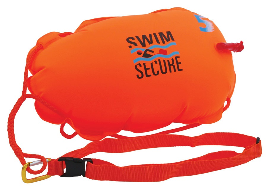 Swim Secure Tow Float Elite Wild Swimming Saftey Buoy , O/S Orange