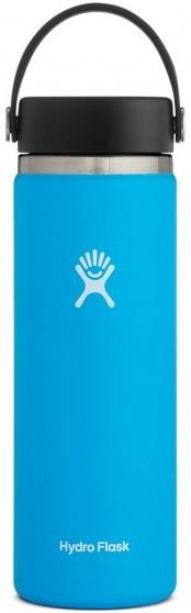 Hydro Flask 20oz Wide Mouth With Flex Cap 2.0 Water Bottle, 20oz Pacific