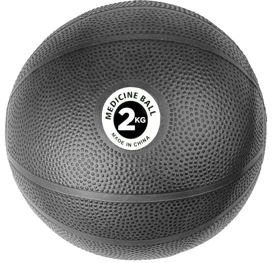 Fitness Mad PVC Medicine Ball, 2KG Black