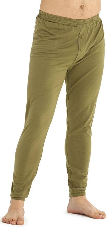 Burton Adult Unisex Midweight Merino Thermal Pant, S Martini Olive