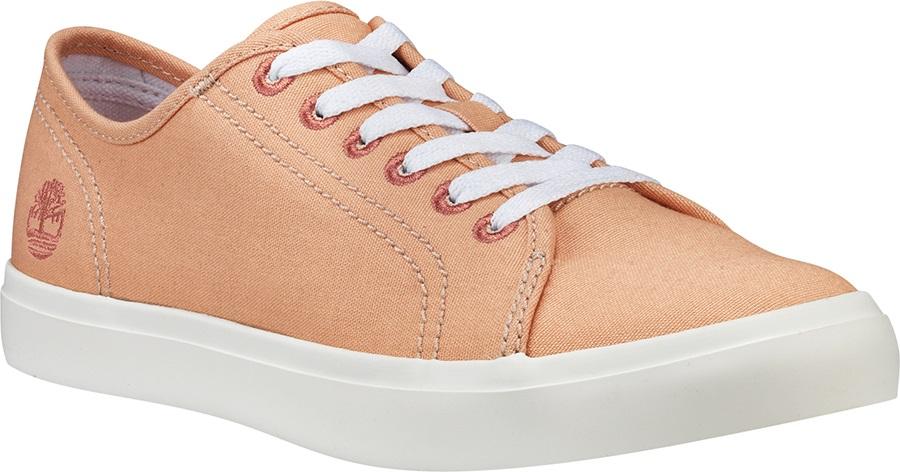 Timberland Womens Newport Bay Canvas Sneaker/Trainer, UK 6 Peach Nt