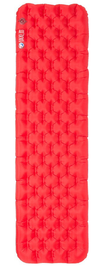 Big Agnes Insulated Axl Air Mat Compact Camping Pad, Regular Red 2020