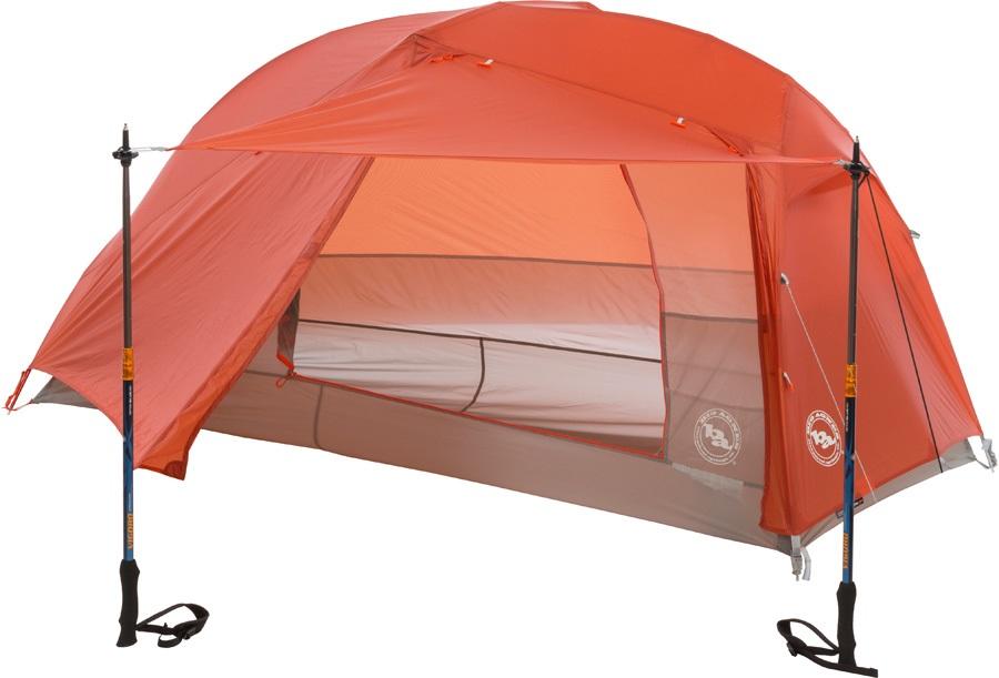 Big Agnes Copper Spur HV UL1 Ultralight Backpacking Tent, Orange
