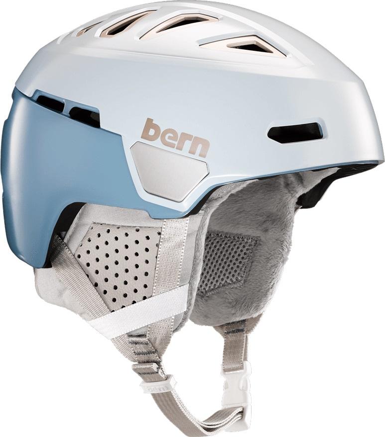 Bern Heist Ski/Snowboard Helmet, M Ice Blue