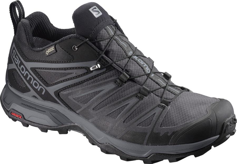 Salomon X ULTRA 3 GTX Walking Shoes, UK 7 Black/Magnet
