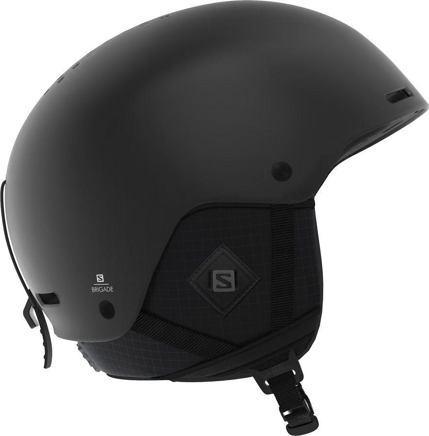 Salomon Brigade+ Snowboard/Ski Helmet, XL Black