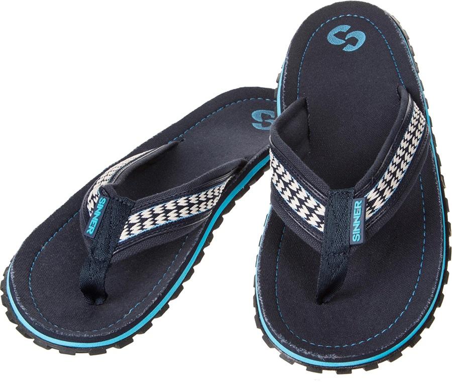 Sinner Beach Slaps IIII Men's Flip Flops, UK 13 / EU 47 Blue/White