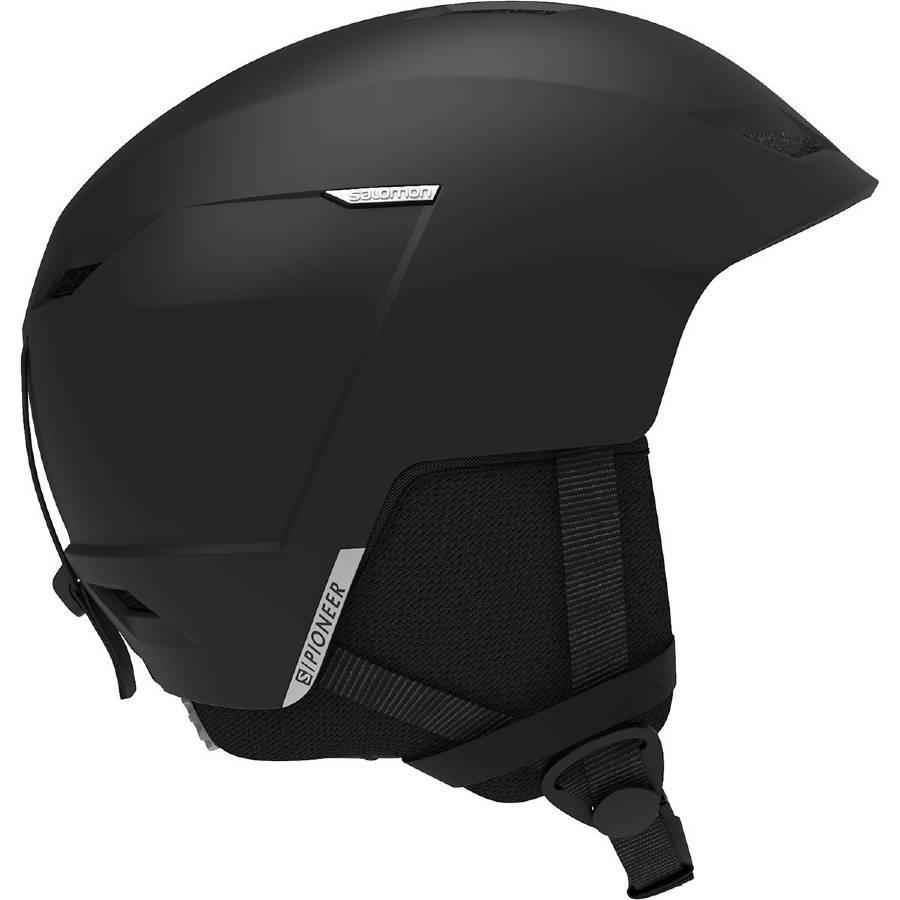 Salomon Pioneer LT Access Snowboard/Ski Helmet, L Black