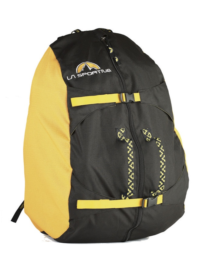 La Sportiva Medium Rock Climbing Rope Bag Yellow/Black